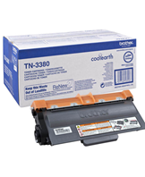 Brother TN3380 - Sort - original - tonerpatron - for Brother DCP-8250DN, MFC-8520DN  HL-5440D, 5450DN, 5450DNT, 5470DW, 6180DW