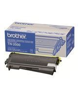 Brother TN 2000 Sort 2500 sider
