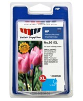 MMPS Cyan Inkjet Cartridge No.951XL (CN046AE)