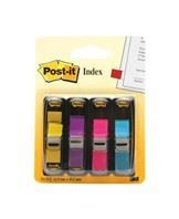 Post-it Indexfaner 11,9x43,1 ass. neon (4)