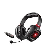 Creative Sound Blaster Tactic3D Rage Wireless V2.0 Trådløs Rød Sort Headset