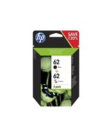 HP 62 Twin Pack Sort  tricolor