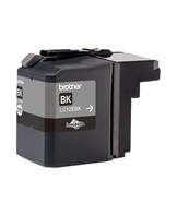 Brother LC12EBK - XL Capacity - sort - original - blækpatron - for Brother MFC-J6925DW
