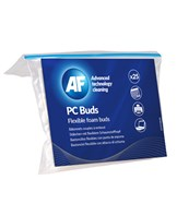 PC buds - Flexible foam cleaning buds (25)