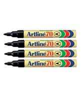 Marker Artline 70 Blister-pack sort (4)