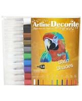 Artline Decorite bullet metallic 10-sæt