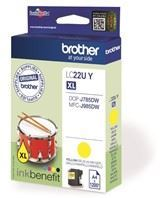 LC22UY ink cartridge yellow