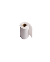 Thermal white paper receipt roll (76x44mm), 335 labels