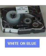 Brother TZe tape 24mmx8m white/blue