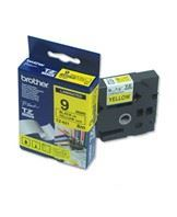 Brother TZe tape 9mmx8m black/yellow