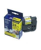 Brother TZe tape 24mmx8m black/yellow