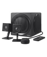 T4 Wireless 2.1 Speaker System Black