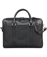 16'' Duo Pocket Laptop Bag PRO Ginza (Avenue), Black