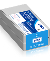 Ink cartridge for TM-C3500 Cyan (SJIC22P)