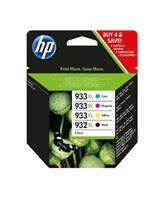 No932 XL black/933 XL ink 4-pack blister
