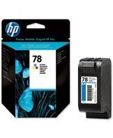 No78 color ink cartridge, blistered