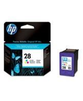 No28 color ink cartridge, blistered