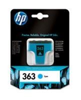No363 cyan ink cartridge, blistered