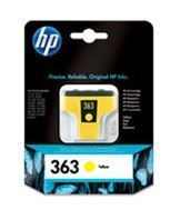 No363 yellow ink cartridge, blistered