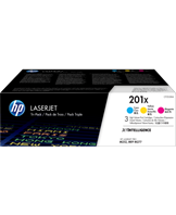 No201X toner 3-pack (Cyan/Magenta/Yellow)