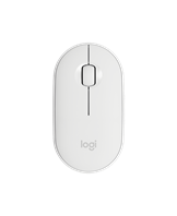 Logitech Pebble M350 Wireless Mouse, Off White