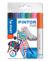 Marker Pintor Fine Fun Mix 1,0 ass (6)