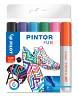 Marker Pintor Medium Fun Mix 1,4 ass (6)