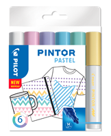 Marker Pintor Medium Pastel Mix 1,4 ass (6)