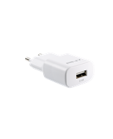 PNY Single Wall Charger 2.4A/12W, White