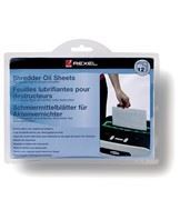 Rexel shredder oil sheets (12)