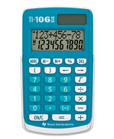 Texas TI-106 II Basic calculator