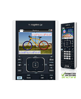 Texas TI-Nspire CX graphing calculator uk manual