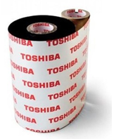 Toshiba AS1 Scratch Solvent-Resistant 84mm x 600m Resin Ribb