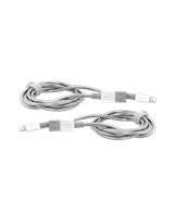 Lightning Cable Sync & Charge 100Cm Silver + Lightning Cable