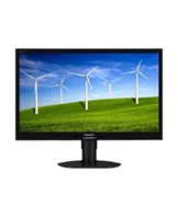 Philips Brilliance B-line 241B4LPYCB 24 1920 x 1080 DVI VGA (HD-15) DisplayPort 60Hz Pivot Skærm