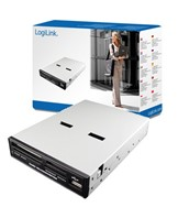 LogiLink Cardreader 3,5 USB 2.0 internal 54-in-1 USB Front Kortlæser USB 2.0